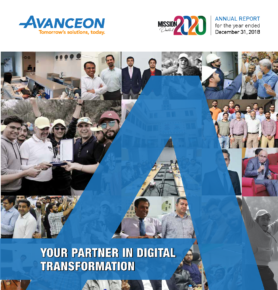 Avanceon Annual Report 2018 1